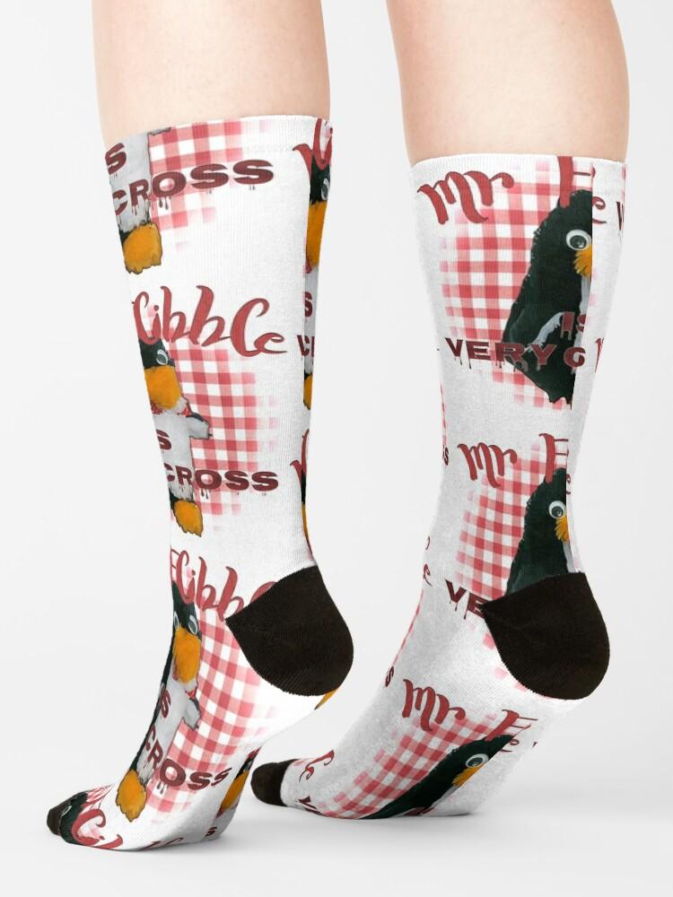 Alternate view of Mr Flibble is very cross Socks