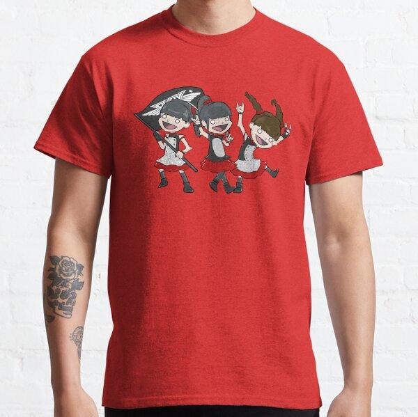 Three Kitsune Goddesses Classic T-Shirt
