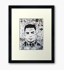 Jack Kerouac Framed Print