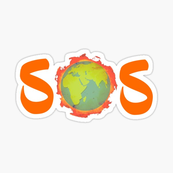SOS - Rettet unsere Erde - Save our Souls Sticker