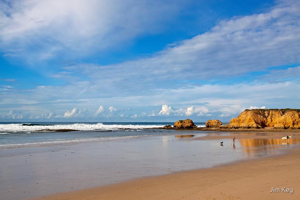 Torquay Beach  Great Ocean Road Victoria by Jim Key
