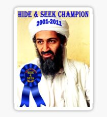Hide & Seek Champion Sticker