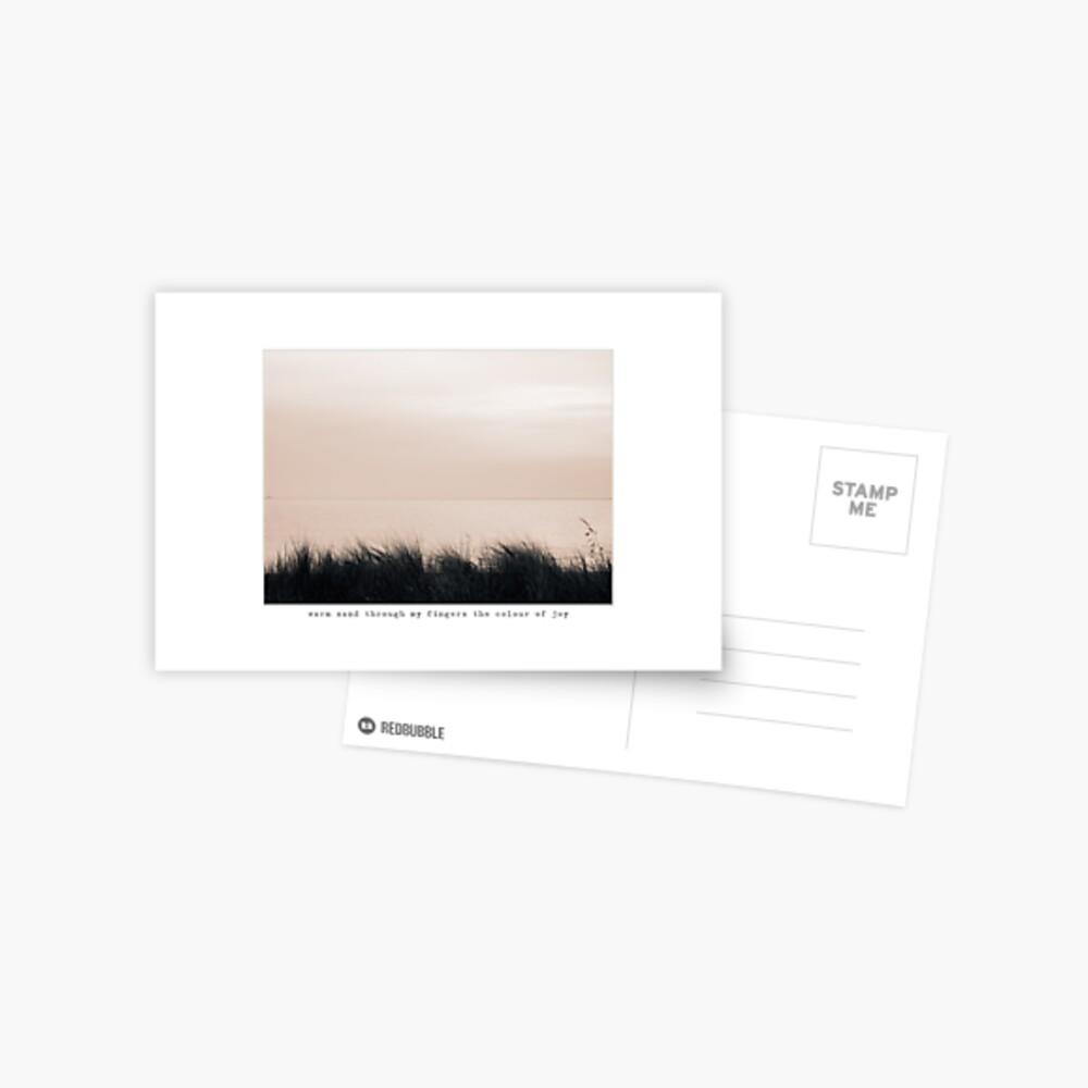 warm sand Postcard