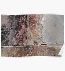 Rusted Corner Stone - Epicurean Love Poster