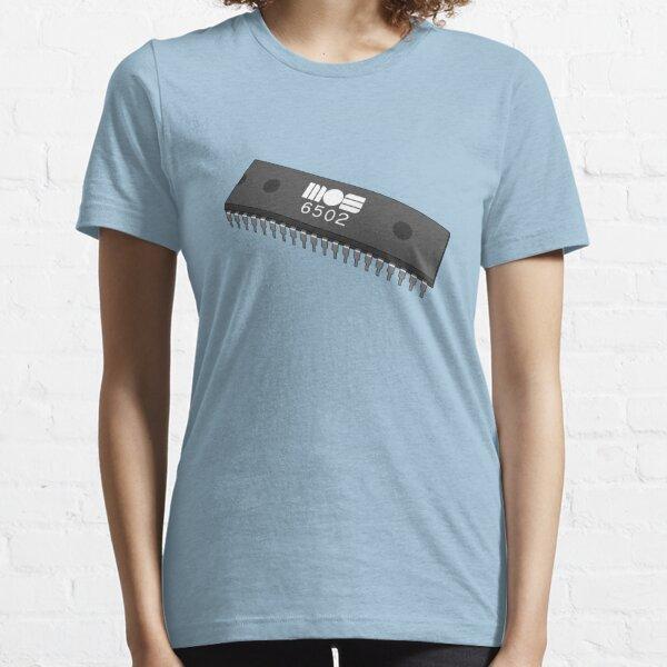 MOS 6502 CPU 8 bits T-shirt essentiel