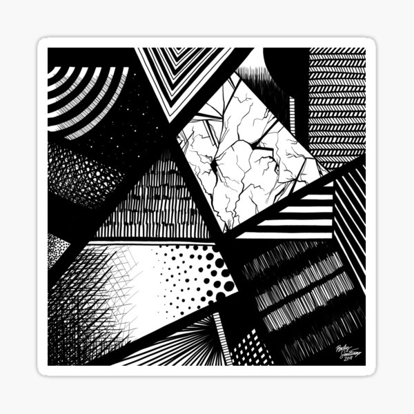 Abstract 1 Sticker