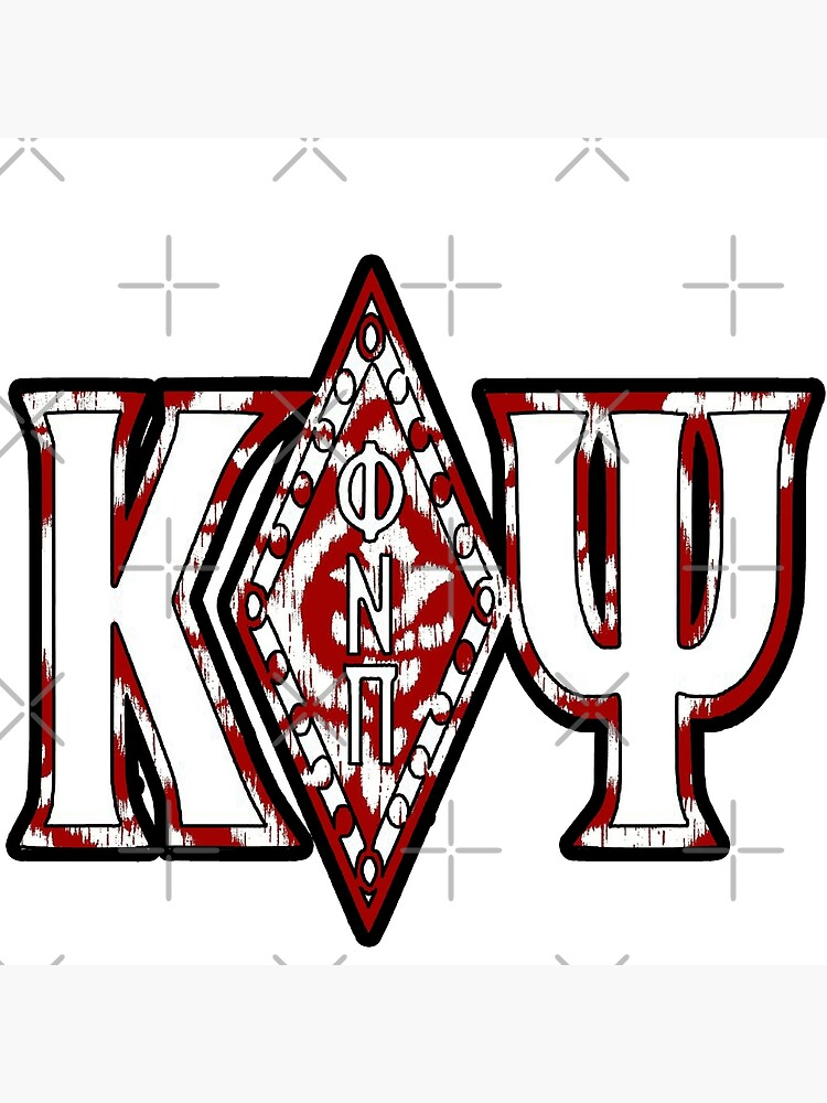 "KAPPA ALPHA PSI Fraternity Diamonds 11/"" x17/"" Art Print"