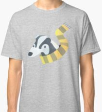 Badger With Scarf Classic T-Shirt