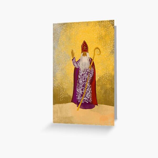St Nicholas  Greeting Card