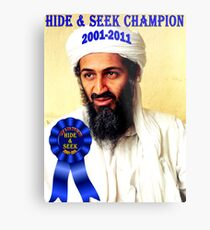 Hide & Seek Champion Metal Print