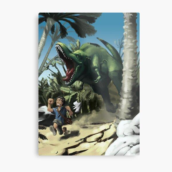 T-rex run Impression métallique