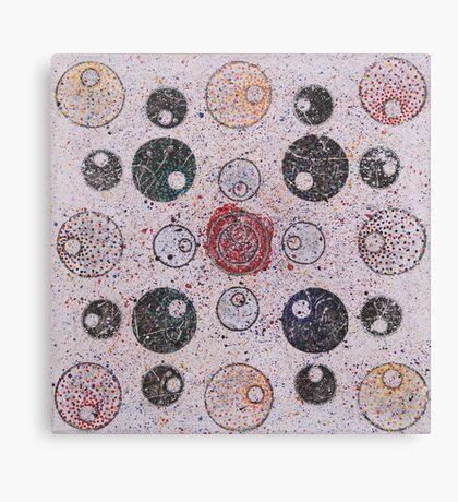 Circles of Confusion Canvas Print