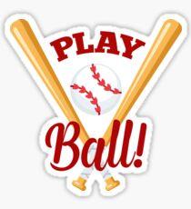 Play Baseball Emoji JoyPixels Softball Fan Sticker