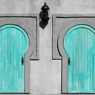 Blue Doors by Karen Kaleta