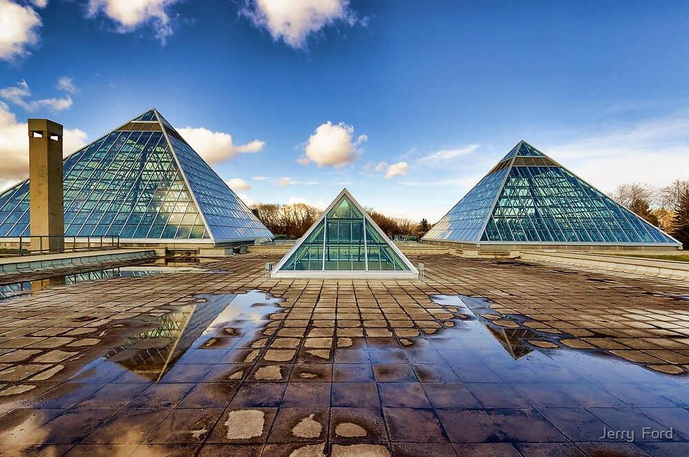 Pyramids Times Three by Myron Watamaniuk