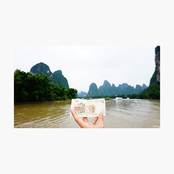 Guilin Karst Mountains  Photographic Print