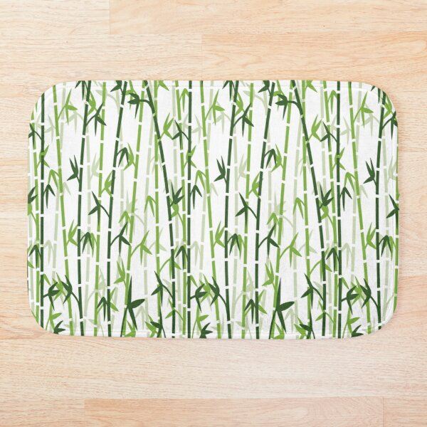 Bamboo Forest Bath Mat