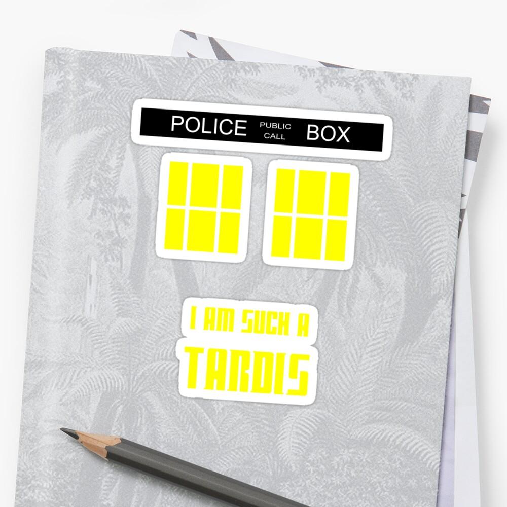 Doctor Who - I'm such a Tardis by koalakoala