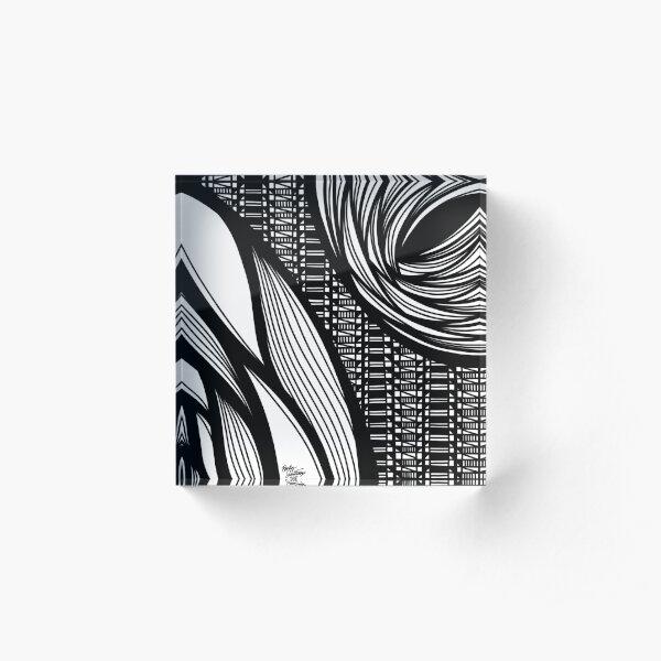 Abstract 3 Acrylic Block