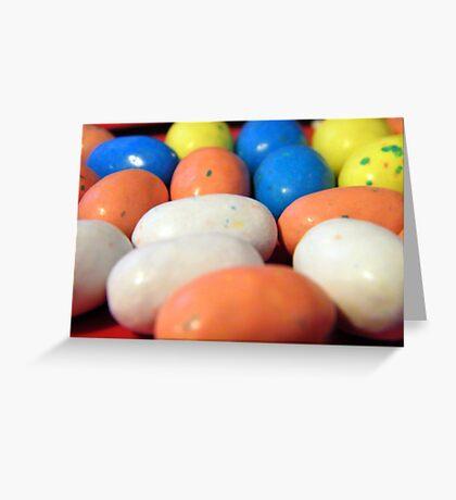 Macro Robin Eggs Greeting Card