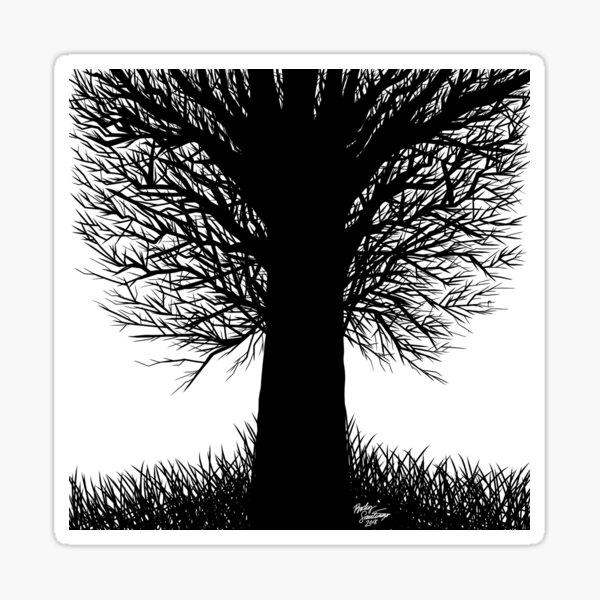 Barren Tree Sticker