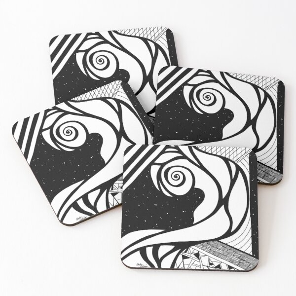 Abstract 4 Coasters (Set of 4)