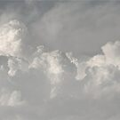 Clouds in black and white by RockyWalley