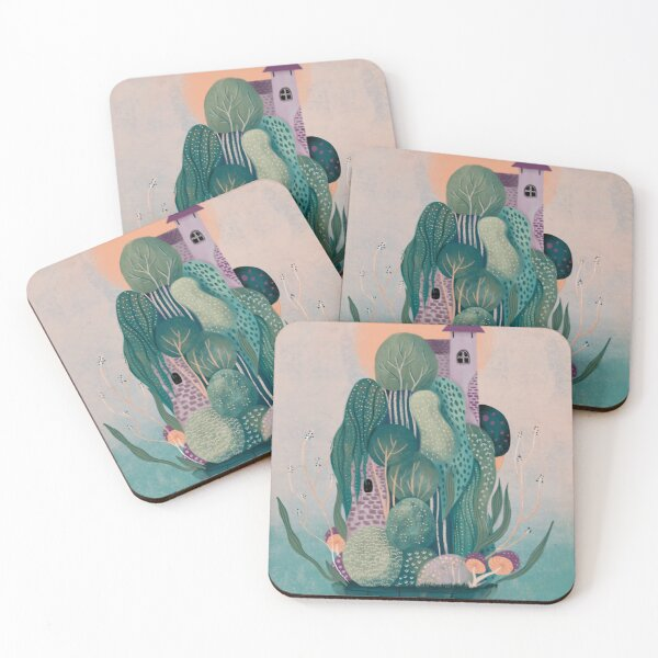 Dragon's home Coasters (Set of 4)