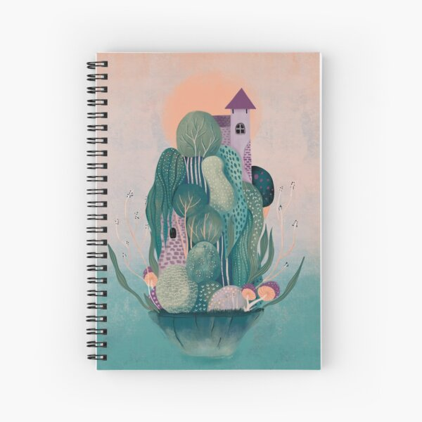 Dragon's home Spiral Notebook