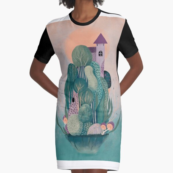 Dragon's home Graphic T-Shirt Dress