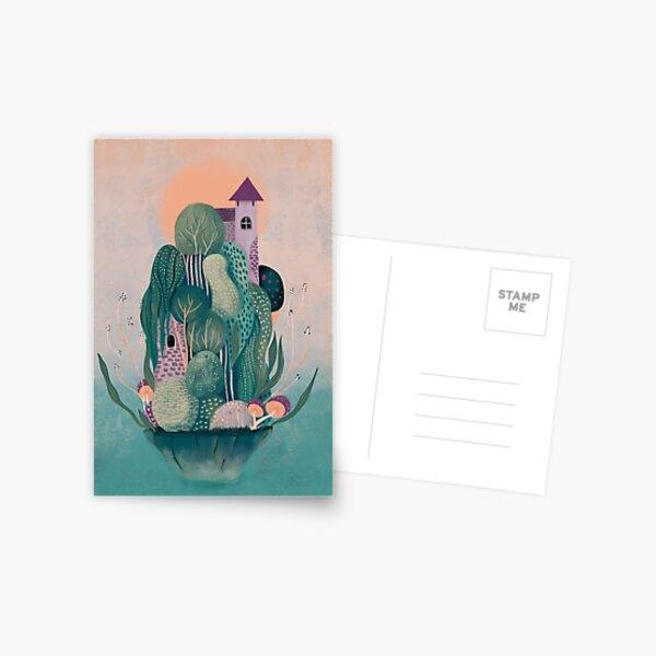 Dragon's home Postcard