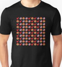 Love American Emoji JoyPixels Travel to United States Slim Fit T-Shirt