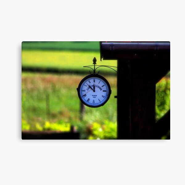 Hurry up Alice, we're going to be late!!!! Canvas Print