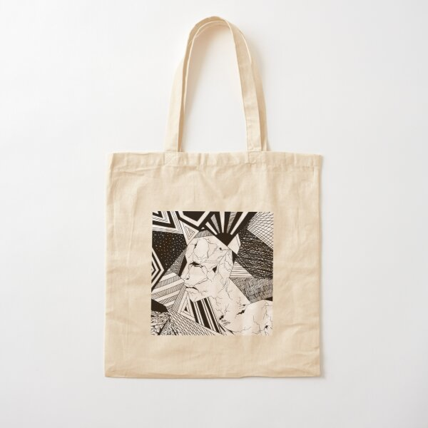 Abstract Mentality 1 Cotton Tote Bag