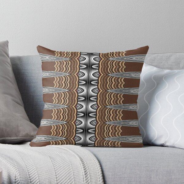 Exotic Crochet (1) Throw Pillow