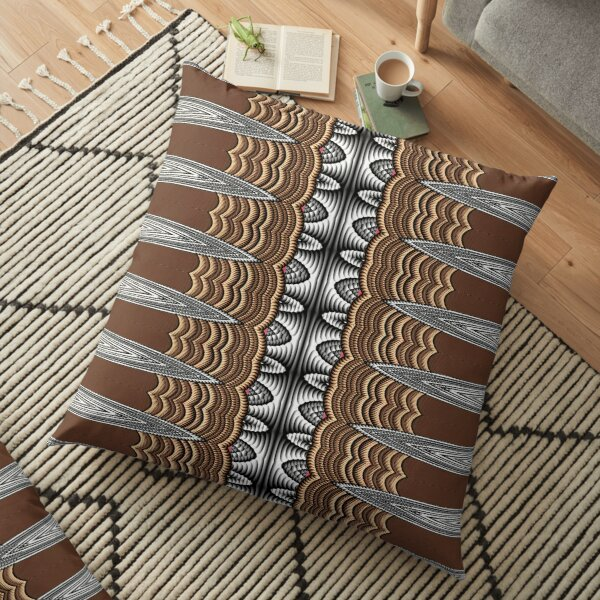 Exotic Crochet (1) Floor Pillow
