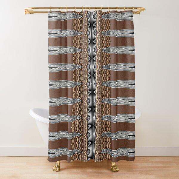 Exotic Crochet (1) Shower Curtain