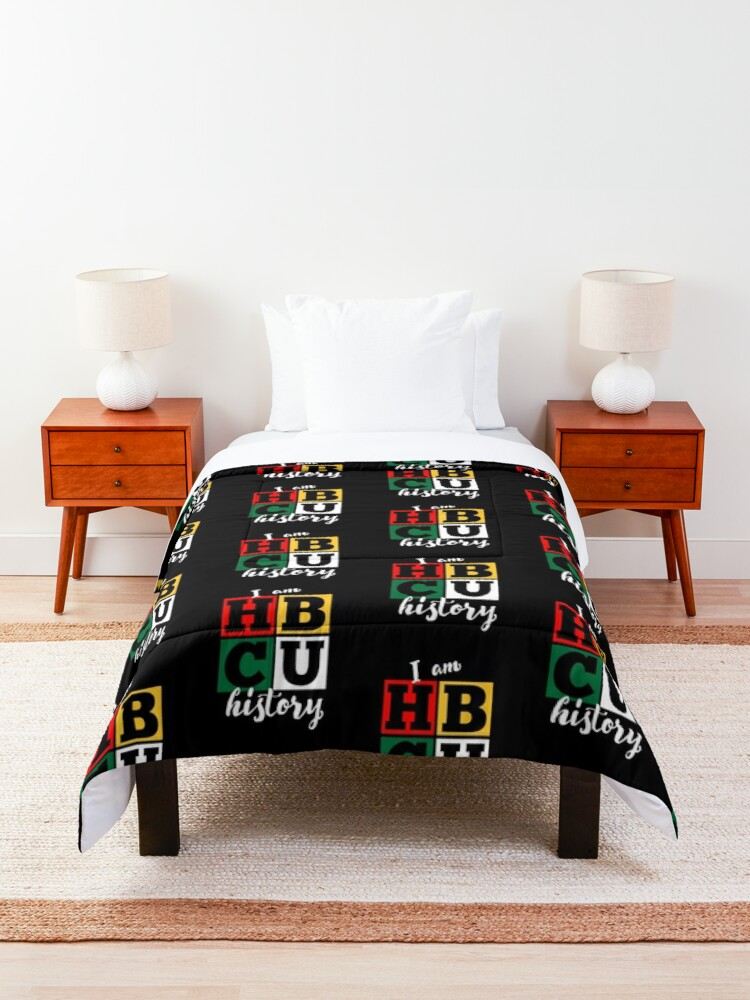 Alternate view of HBCU Black History Month Comforter