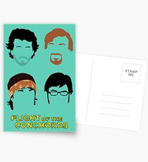 Flight of the Conchords: Silly-ettes Postcards