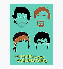Flight of the Conchords: Silly-ettes Photographic Print