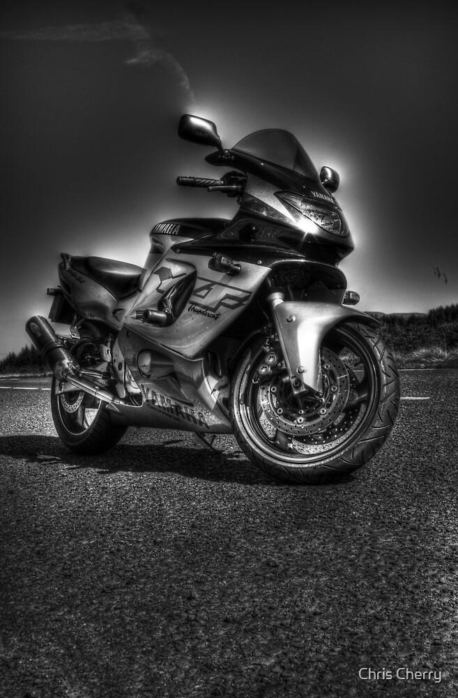 Yamaha Thundercat Monotone HDR by Chris Cherry