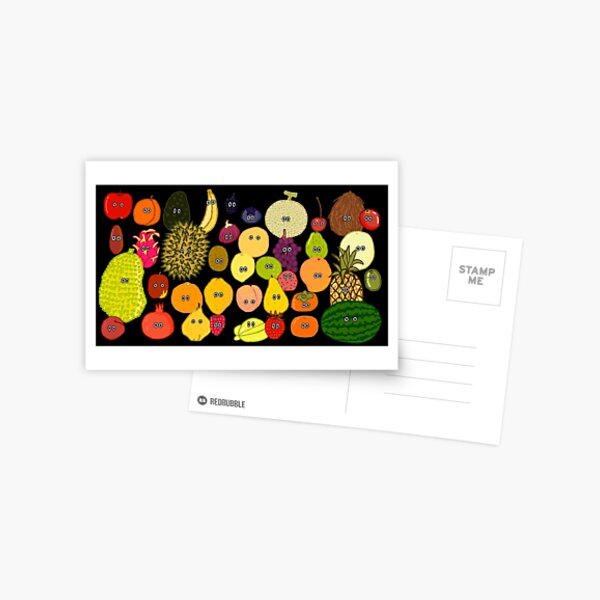 Fruit - The Kids' Picture Show Postcard