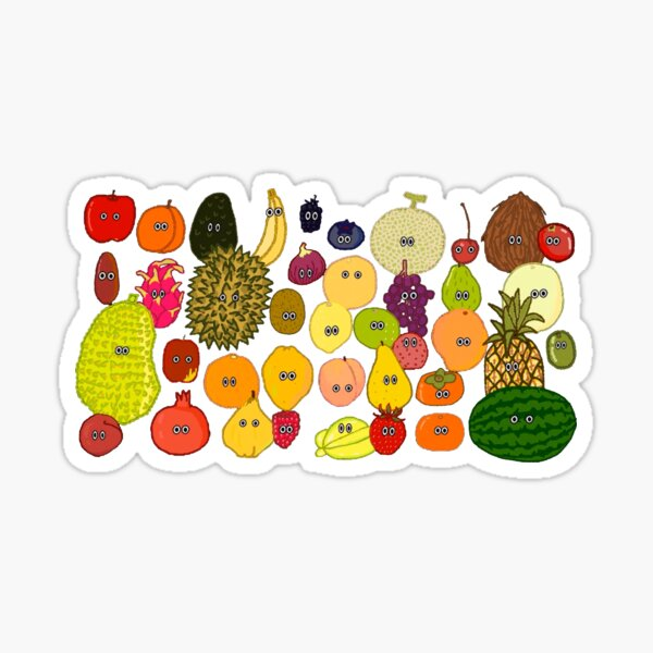 Fruit - The Kids' Picture Show Sticker