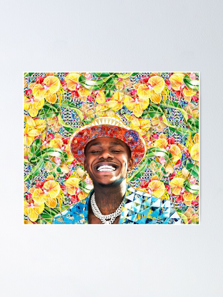 Alternate view of DaBaby Portrait Poster