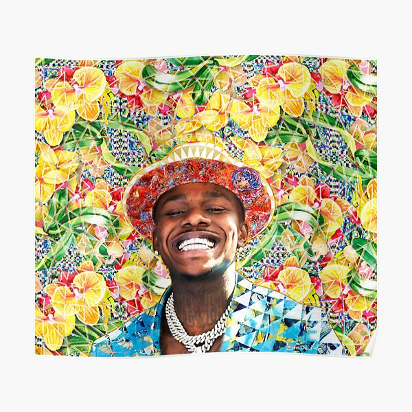DaBaby Portrait Poster