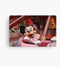 Mouse in a Chair Canvas Print