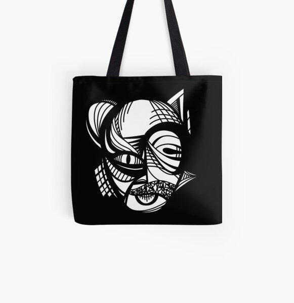 Abstract Animal 1 All Over Print Tote Bag