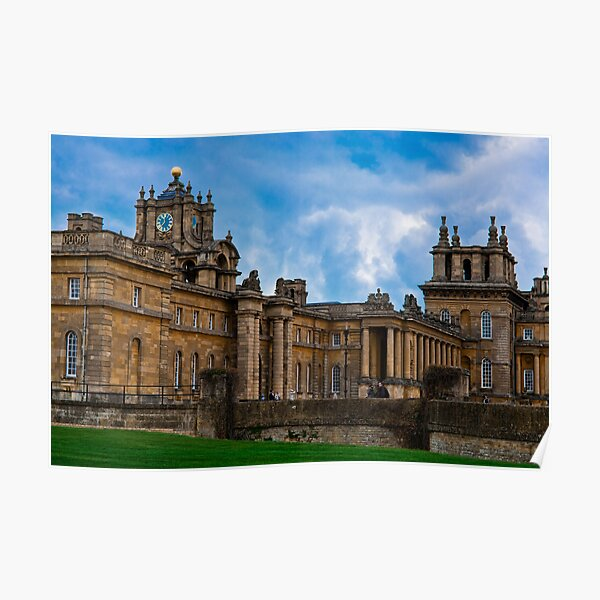 BLENHEIM PALACE..!  - (1).. Poster