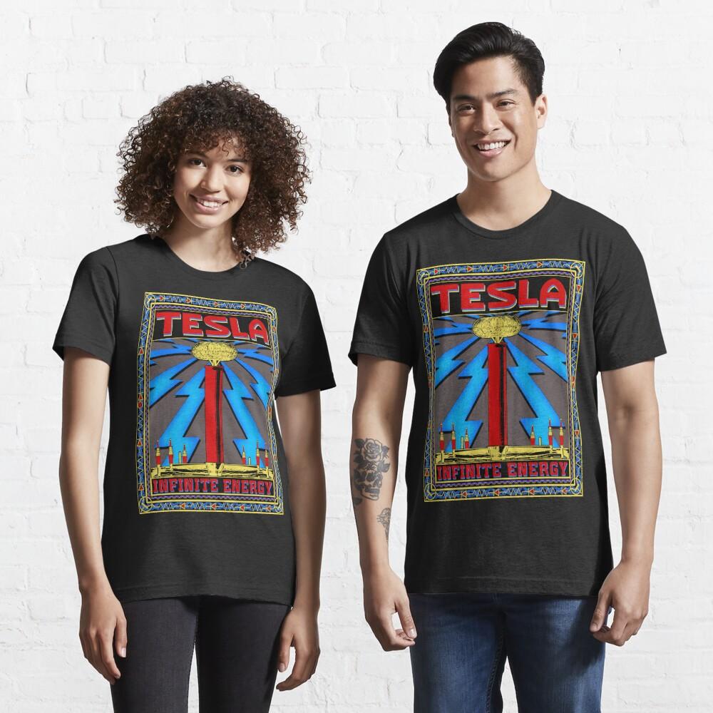 TESLA COIL - INFINITE ENERGY Essential T-Shirt