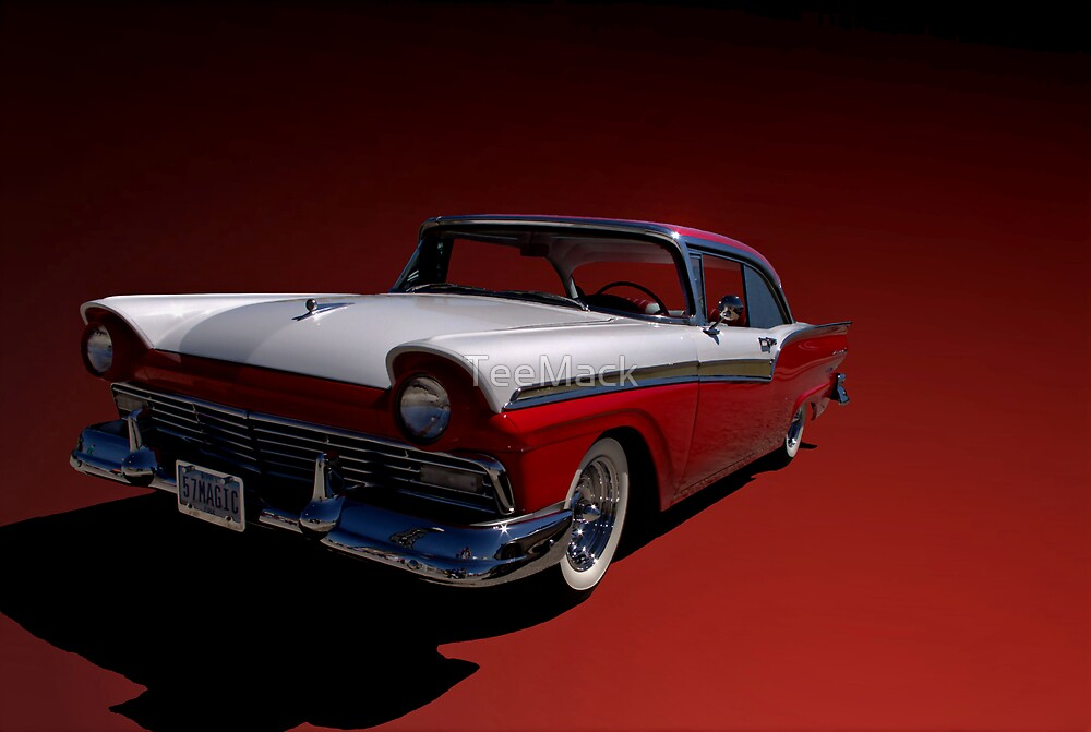 1957 Ford Fairlane by TeeMack